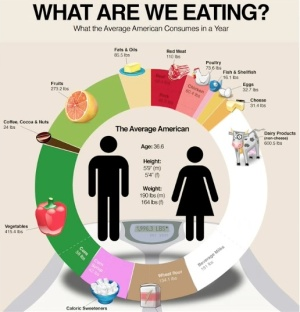 what we are eating-infographics