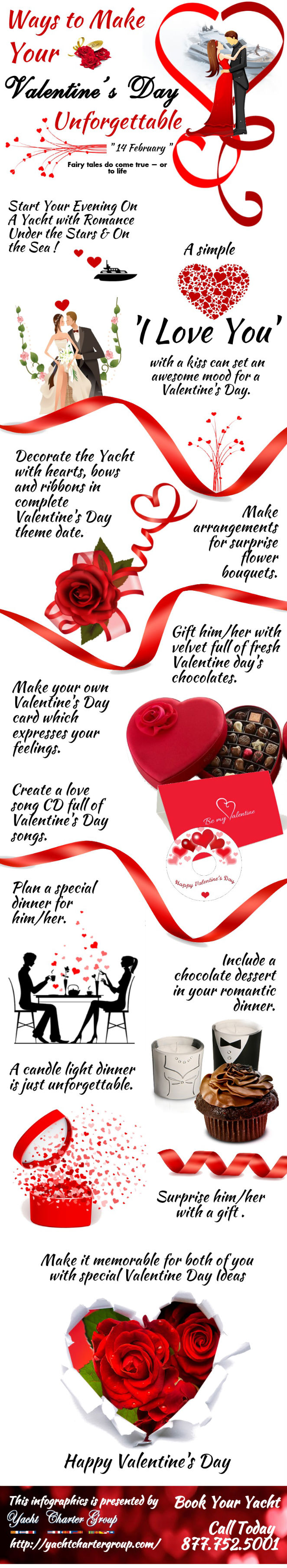 ways to make your valentine's day unforgettable